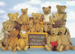 Spielzeug Museum Munchen Toy Teddy German Museum Advertising Postcard - Non Classificati