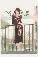 Millinery & Furs Fur Coats Autumn 1928 Fashion Vogue Postcard - Moda