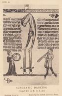 Medieval Circus Acrobat Dancing Acrobatic Sport Antique Postcard - Non Classificati