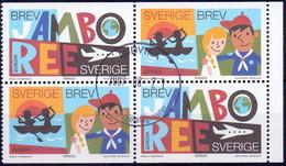 ZWEDEN 2007 HBL Europazegels GB-USED - Oblitérés