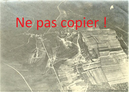 PHOTO ALLEMANDE - VUE AERIENNE DE SAINT AGNANT SOUS LES COTES PRES DE APREMONT LA FORET  MEUSE - GUERRE 1914 - 1918 - 1914-18