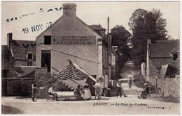 14 - B24479CPA - AMAYE - AMAYET - Le Pont Du Coudray. Hotel De La Gare Lemoisson - Peintre - Très Bon état - CALVADOS - Altri Comuni