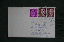 ESPAGNE  : Timbres Sur Lettre De TREMP ( LERIDA ) Vers NARBONNE ( FRANCE ) . - 1971-80 Storia Postale