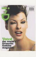 Linda Evangelista Canadian Supermodel 2004 Magazine Postcard - Schauspieler