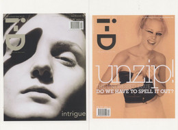Laura Foster British Model ID Magazine 2x Cover Postcard S - Schauspieler