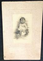 Bebé No Penico * Bébé Dans Le Pot  (10*15cm) - Oud (voor 1900)