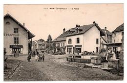 Montécheroux , La Place - Autres Communes