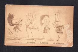 (04/07/21) THEME ILLUSTRATEURS-ILLUSTRATEUR E. ROSAMBEAU 1867 - POLITIQUE - HUMOUR - CARICATURE - PHOTO SUR CARTO - Otros Ilustradores