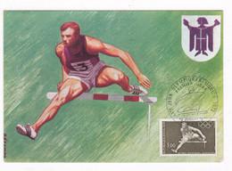 Carte Premium J. O. Munich 1972, 2 Autographes De Champions Olymp. Concours Complet D'Equitation - Equitation