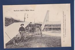 CPA CIRQUE Buffalo Bill Wild West Cirque Cirk Circus Circulé Cycliste Cycle Vélo - Cirque