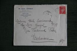 Enveloppe Publicitaire, SAINT AFFRIQUE, Me Emile THOMAS, Notaire - 1900 – 1949