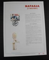 2528 'Natasja' - Luxe Kunstblad - Oplage: 500 Ex. - Cartes Souvenir