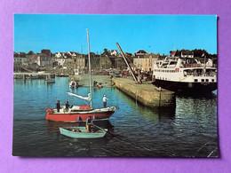 56  CPSM    ÎLE De GROIX   Port-Tudy     Bon état (pli Dans Un Angle) - Groix