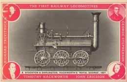 Middleton Railway Leeds 1812 Timothy Hackworth Train Postcard - Trains