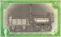 Timothy Hackworth Sans Pareil Rainhill Locomotive Trials Postcard - Trains