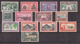 NEW ZEALAND - 1940 VARIOUS SUBJECTS - COMPLETE SET MNH - Unused Stamps