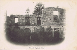21 - Vergy - Environs De Nuits-Saint-Georges (Côte D'Or) - Ruines De L'Eglise De L'Abbaye De Saint-Vivant - Nuits Saint Georges
