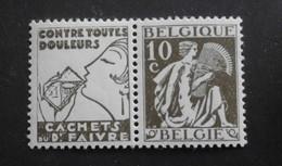 1932 : Cob PU60**  10C Faivre  (sans Charnière D10) Voir Verso - Advertising