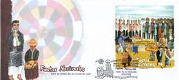 GUATEMALA 2009 BLOCK FDC UPAEP Fiestas Nacionales National Holidays - Sonstige