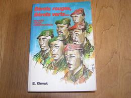 BERETS ROUGES BERETS VERTS Guerre 40 45 Congo Afrique Para Commando Parachutiste Armée Belge SAS Danloy Blondeel - History