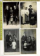 SOLDE 520 -10  PHOTOS DE FAMILLE - 10 FAMILIEFOTOS - Persone Anonimi