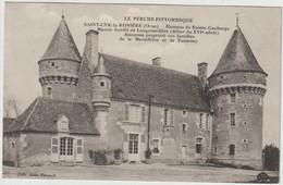SAINT CYR LA ROSIERE  HAMEAU DE SAINTE GAUBURGE MANOIR FORTIFIE DE LANGENARDIERE - Other Municipalities