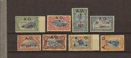 Ruanda - Urundi Ocb Nr :  36 - 43  ** MNH   (zie Scan) - 1916-22: Mint/hinged