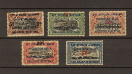 Ruanda - Urundi Ocb Nr :   45 - 49 ** MNH   (zie Scan) - 1916-22: Mint/hinged