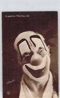 CPA THEMES SPECTACLES CLOWN ALBERTO FRATELLINI STUDIO V HENRY 150 DOS DIVISE NON ECRIT - Circo