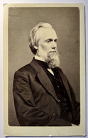 Photographie CDV USA - Portrait Homme Âgé - Autographe Au Dos - Circa 1865 - Dos Muet - TBE - Alte (vor 1900)
