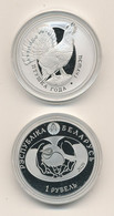Belarus - 1 Ruble 2020 ( 2021 ) UNC Bird Of The Year - Capercaillie Lemberg-Zp - Belarus