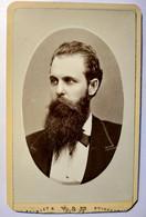 Photographie CDV USA - Portrait Homme Très Longue Barbe - Sans Francisco - Circa 1875   - TBE - Alte (vor 1900)