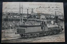 CPA Loire-Atlantique - Saint-Etienne-de-Montluc (44360) Le Sillon De Bretagne – Santerre Editeur – Animée Train Locomoti - Otros Municipios