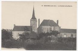 44 - SOUDAN +++  Le Clocher Et La Mairie +++ - Otros Municipios