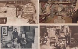 Gretna Green Blacksmiths Shop Interior Anvil Interior 4x Vintage Postcard S - Ohne Zuordnung