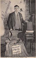 Richard Rennison Gretna Green Anvil Priest Hand Signed Antique Postcard - Ohne Zuordnung