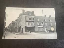Carte Postale Ernée Place Mazarin Et Rue Nationale - Ernee