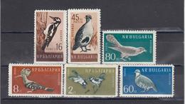 Bulgaria 1959 - Birds, Mi-Nr. 1116/21, MNH** - Ungebraucht
