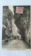 RARE - CPA ANIMEE CIRCULEE EN 1911 - VALLE BREMBANA - L'ORRIDO DI BRACCA - Other Cities