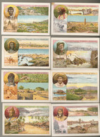 Lot De 8  Cartes Teinturerie Magueur      Theme Les Colonies Francaises - Zonder Classificatie