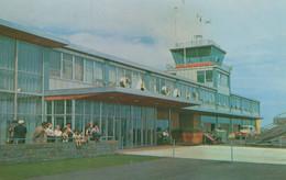 Calgary Airport Canada Taylorchrome Rare 1960s Postcard - Non Classificati