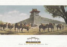 Corner Tower Outside Xibianmen Gate Peking Chinese Postcard - Cina