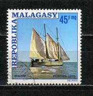 MADAGASCAR : BATEAU -  N° Yvert 577 Obli. - Madagascar (1960-...)
