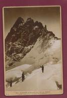 040721 - PHOTO ANCIENNE 74 HAUTE SAVOIE CHAMONIX MER DE GLACE EXCURSION ALPINISME GLACIER E.C. 901 PIC DE LA MEIJE GRAVE - Chamonix-Mont-Blanc