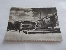 BORDEAUX ( 33 Gironde ) STATUE DE GAMBETTA CONTRE JOUR SUR LES ALLEES DE TOURNY  ANIMEES TIMBRE TAXE - Bordeaux