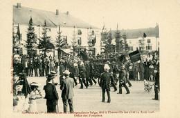 FLORENVILLE - Défilé Des Pompiers - 75° Anniversaire Indépendance - Florenville