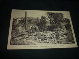 Carte Postale Militaire Guerre 14 Établir Les Noms Des Héros Tombés Avant Les Funérailles - Guerra 1914-18