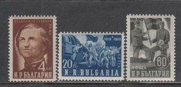 Bulgaria 1950 - Trentenaire De La Greve Des Chemins De Fer De 1919-20, YT 625/27, Neufs** - Ungebraucht