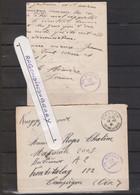 MARCOPHILIE - MILITARIA - COMPIEGNE - FRONTSTALAG 122, Courrier Adressé à Un Prisonnier Avec 2 Cachets Du Camp à Rédepti - Oorlog 1939-45