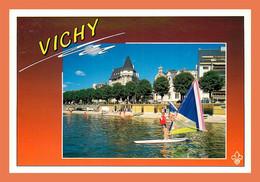 A524 / 459 03 - VICHY Plan D'eau Sur Le Lac D'Allier - Vichy